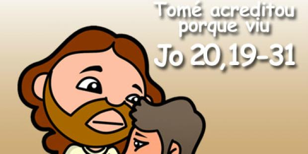 Jesus e apóstolo Tomé