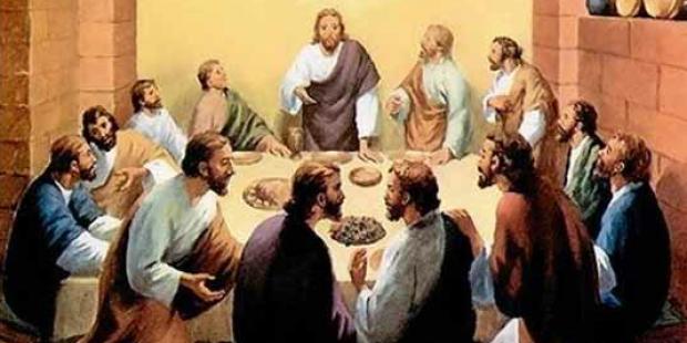 Os apóstolos São Mateus, Santo André, São Simão e São Judas
