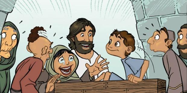 Jesus tem compaixão da viúva de Naim