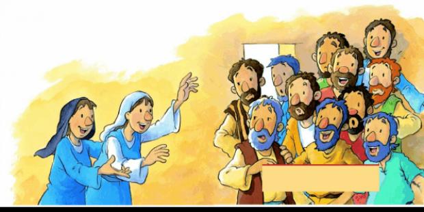 Maria Madalena foi anunciar aos discípulos
