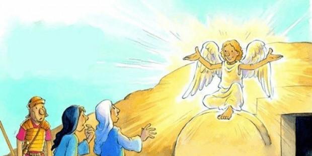 O anjo disse que Jesus havia ressuscitado
