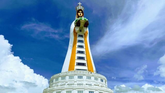 A maior estátua da Virgem Maria do mundo fica pronta!